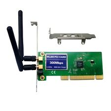 PCI Low-Profile Brackets 11n 300M 802.11b/g/n 300Mbps Wireless WiFi Card adapter