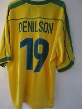 Brazil 1998-2000 Denilson 19 Home Football Shirt Extra Large Maglia /34809