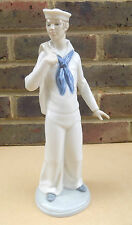 NAO by LLADRO Navy Sailor Porcelain Figurine