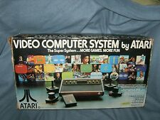 Atari 2600 6 Switch In Box With 23 Games Working 1978