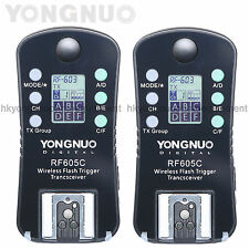 Yongnuo RF-605 C Wireless Flash Trigger for Yongnuo RF-603 II RF-602 YN-560 III
