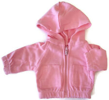 Pink Hoodie Jacket for Bitty Baby + Twins Doll Clothes DETAILED!