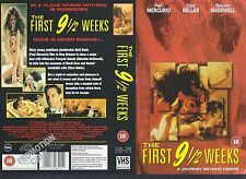 The First 9 1/2 Weeks, Malcolm McDowell Video Promo Sample Sleeve/Cover #13859