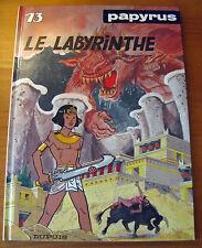 PAPYRUS N° 13 Le Labyrinthe 1990 E.O. De Gieter Superbe Etat
