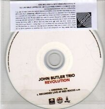 (CQ4) John Butler Trio, Revolution - 2011 DJ CD