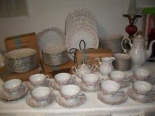 Mitterteich LADY CLAIRE China GERMANY Bavaria Set of 12 cups & saucers