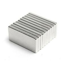 5 Pcs 20mm x 10mm x 2mm Rectangular Strong Rare Earth Neodymium Magnets N52
