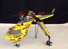 LEGO DINO 5886 T-Rex Hunter Helicopter Only- 98% Complete As Pictured