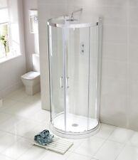 Luxury Aquaglass Purity 900x770mm D Shaped Quadrant Enclosure + Tray