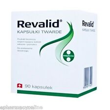 REVALID 90 cap. HAIR LOSS rebuilds cuticles strengthens nail structure