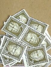 100 USED STAMPS # 1289 20C GEORGE C MARSHALL
