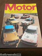 MOTOR MAGAZINE - NOEL EDMONDS ON TOUR - AUG 24 1974