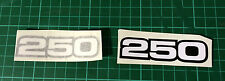 YAMAHA RD250 RD250 RD 250 DECALS C/Dx E and F SIDE PANEL DECALS