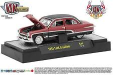 1:64 M2 Machines *AUTO-THENTICS R41* 10th Anniversary 1951 Ford Crestliner *NIB*
