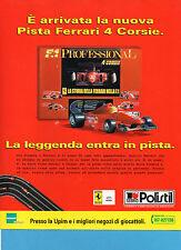 AUTO996-PUBBLICITA'/ADVERTISING-1996-PISTA FERRARI 4 CORSIE