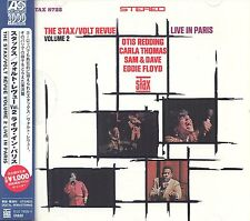 The Stax/Volt Revue Volume 2 Live In Paris CD NEW SEALED Obi Strip Otis Redding+