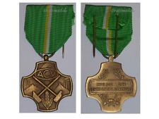 Belgium WW2 Medal Membership Syndicate Trade Union ACV Bronze Belgian Decoration