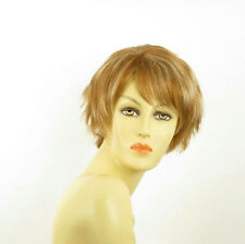 short wig for women blond copper wick light blond ref: ROMANE f27613 PERUK