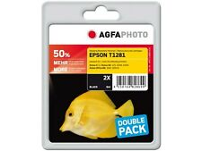 AGFA PHOTO TWINPACK  Tinte  kein original  2x T1281 for epson sx125 420w 425w