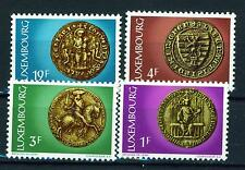 Luxembourg Antic coins stamps set 1972 MNH