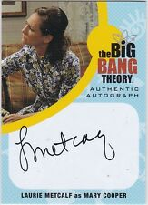 THE BIG BANG THEORY SEASONS  6 & 7 LM1 LAURIE METCALF AS MARY COOPER AUTOGRAPH