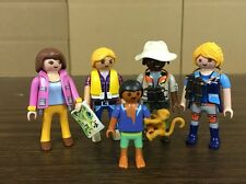 Playmobil Safari Adventure Figures & Monkey Lot