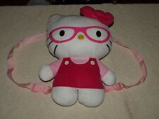 "Hello Kitty Plush Girls Back pack Adorable 14"" tall"