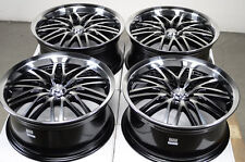 18 4x100 4x114.3 Rims Polished 4 Lug Fits Protege Cobalt Elantra Civic Wheels
