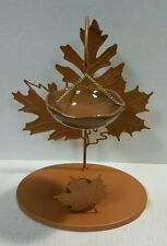 Yankee Candle Fall Autumn Foliage Leaves Hanging Tart Burner / Warmer New !