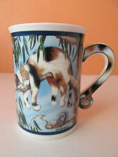 Danbury Mint Gary Patterson Comical Cats Time Out Coffee Mug Cup