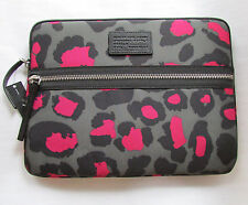 "Marc by Marc Jacobs 13"" Laptop Sleeve Case Raspberry Sorbet Domo Arigato NEW"