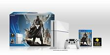 PLAYSTATION 4 (PS4) DESTINY GLACIER WHITE BUNDLE!  SUPER RARE & LIMITED!