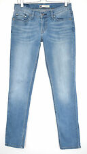 Levis SKINNY 524 SUPERLOW Medium Blue Stretch Jeans Size 10 W28 L32
