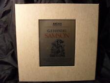 G.F. Händel - Samson /  Richter     4 LP-Box