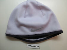Nike women's therma-fit running hat/cap/beanie reversible purple/lavender