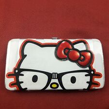 Claire's Hello Kitty Womens Wallet Loungefly Sanrio Nerdy Coin Purse ID Bag VGC