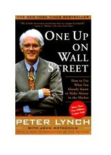 *New Paperback* ONE UP ON WALL STREET by Peter Lynch and John Rothchild