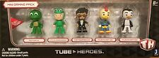 Tube Heroes MINI GAMING PACK 5 Pack Character Figures FREE Ship! Tiny Turtle
