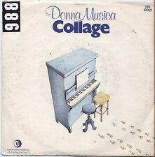 "COLLAGE - Donna musica - VINYL 7"" 45 LP 1980 VG+/VG- CONDITION"