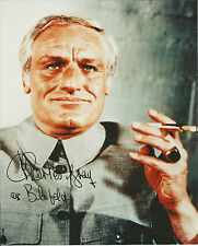 Hand Signed 8x10 photo - CHARLES GRAY as BLOFELD in JAMES BOND - RARE + COA