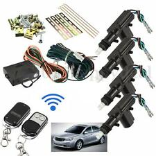 Universal Car Kit Central Door Lock Locking Keyless Remote Control Entry DC 12V