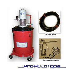 5 Gallons Air Operated High Pressure Grease Pump ( with 20FT Hose )