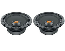 COPPIA WOOFER SPL 16CM HERTZ SV165.1 + SUPPORTI BMW MINI COOPER '01  POST