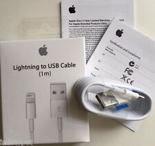 New MFi Original Apple iPhone 7 5S 6s Lightning USB Data Cable Charger MD818ZM/A