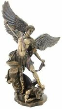 "14.5""  Archangel Michael Statue Figurine Figure Religious San Saint Angel St"