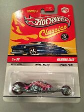 Hot Wheels Classics HAMMER SLED Pink CHASE Series 5 (T07)