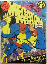 Megaton Man GN Vol 1. 136 pages (Kitchen Sink 1990 1st print) VF/NM condition