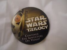 Star Wars Trilogy C-3PO Promotional Pin Button Pinback