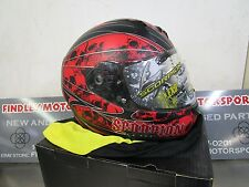 Scorpion EXO Underworld Blood Red Helmet Small S EXO-R410