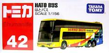 Takara Tomy Tomica 42 Hato Bus 1/56 Scales Diecast Toy Car Model